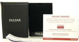 Pulsar Mens Black Rubber Watch PUA120 Divers Date New