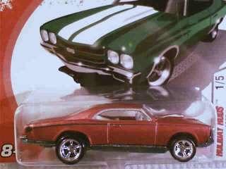 Hot Wheels 1967 PONTIAC GTO Red 1/5 2005 HOLIDAY RODS
