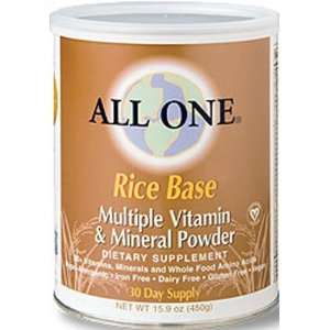Nutrient Powder Milk Free Rice Base 2.2 Lbs   All One