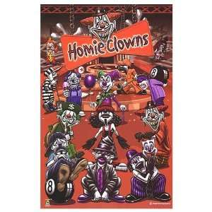 Homie Clowns Movie Poster, 22.25 x 34.5 Home & Kitchen