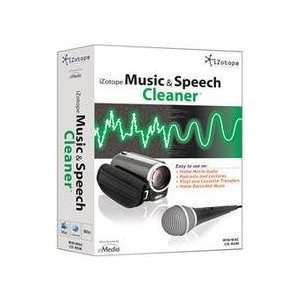 EMEDIA MUSIC CORP IZ11100 IZOTOPE MUSIC & SPEECH CLEANER