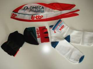 Omega Pharma Lotto Cycling Set Jersey Bib Shorts 3XL