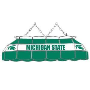 Michigan State University Spartans Stained Glass Billiard