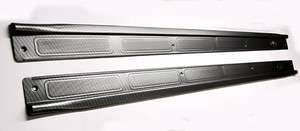 1970 81 FIREBIRD CAMARO CARBON FIBER LOOK DOOR SILL PLATES NEW PAIR
