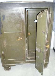 OLD Antique 1863 FLOOR SAFE within a Safe VERY RARE