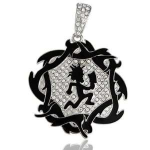 2008 OFFICIALLY LICENSED ICP CHARM BLACK HATCHET MAN JUGGALO PENDANT