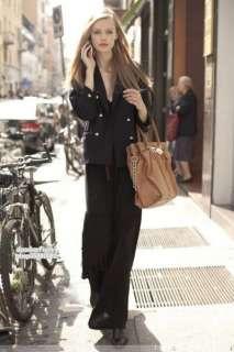 Knit Long Skirt Ankle Mop Dress/Long Sleeve Dress Black