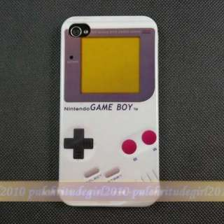 Nintendo NES CONTROLLER + game boy hard CASE COVER FOR iPhone 4 4th 4s
