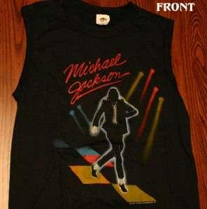 Michael Jackson 5 1984 Victory Tour Sleeveless Shirt Medium