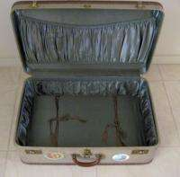Oshkosh Luggage Suitcase Vintage