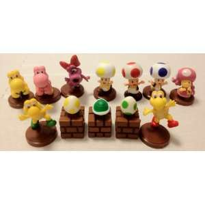 Super Mario Mini 12Pcs Figures Toys & Games
