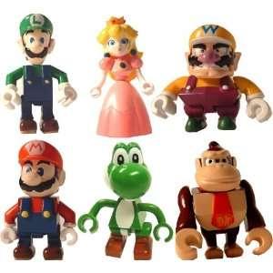 Super Mario Mini Figure Set Of 6 Toys & Games