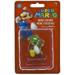 Green Yoshi (~1.8) Super Mario Mini Figure Collection Toys & Games