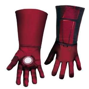 The Avengers Iron Man Mark VII Deluxe Child Gloves / Red   One Size