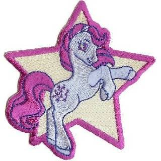 My Little Pony Iron On Embroidered Patch   3.5 Galloping Star Horse