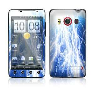 Lightning Protective Skin Cover Decal Sticker for HTC Evo