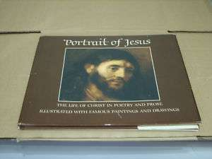 PORTRAIT OF JESUS HARD COVER BOOK BY HALLMARK CARDS |
