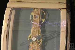 CORUM GOLDEN BRIDGE 18K ROSE GOLD LIMITED MENS WATCH W/ WOOD BOX