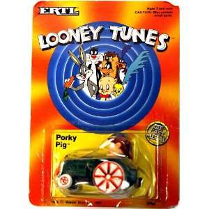 Looney Tunes Porky Pig Die Cast Metal Car Toys & Games