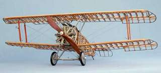 MODEL AIRWAYS SOPWITH CAMEL 1/16 wood kit plane NEW