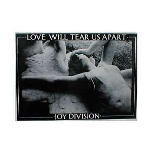Joy Division Poster Love Will Tear Us Apart