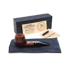 Savinelli Short Liscia 510 Tobacco Pipe