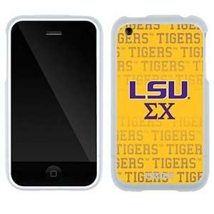 LSU Sigma Chi Tigers on AT&T iPhone 3G/3GS Case by Coveroo