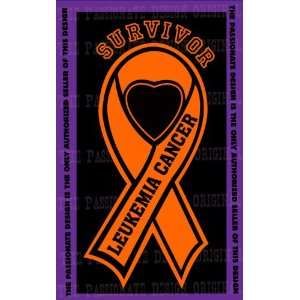 Leukemia Cancer Ribbon Decal 6 X 11 Everything Else