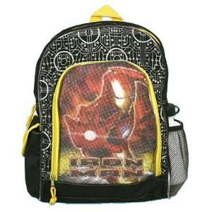 Iron Man Large School Backpack Toys & Games