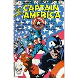 Captain America   1982 King Size Annual Comic Book