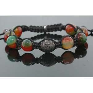 30ct Mens Hip Hop Diamond Bracelet Green IcedTime Bracelets Jewelry