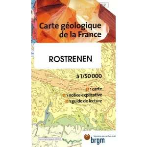 Rostrenen Carte geologique de la France (French Edition