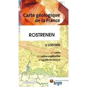 Rostrenen Carte geologique de la France (French Edition