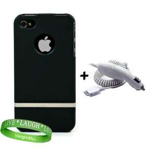 iPhone 4 Car Charger + Live * Laugh * Love Wrist Band Electronics