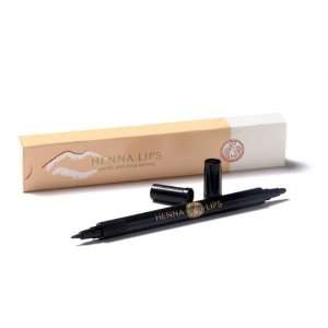 Hennalips Strawberry Red   Natural Semi permanent Lip liner Beauty