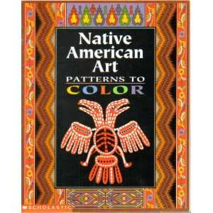 Native American Art Patterns to Color Books