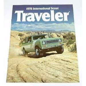 1978 78 International Scout TRAVELER Truck BROCHURE