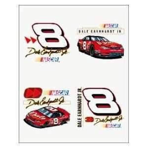 : DALE EARNHARDT JR. OFFICIAL NASCAR LOGO TATTOOS: Sports & Outdoors