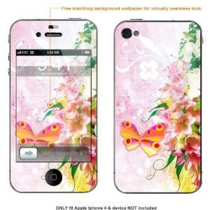 Skin Sticker for AT&T & Verizon Apple Iphone 4 case cover iphone4 379