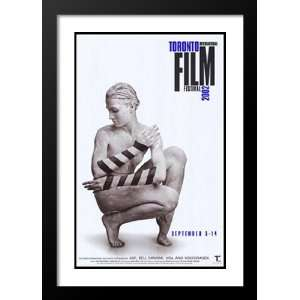 Toronto Film Festival 32x45 Framed and Double Matted Movie