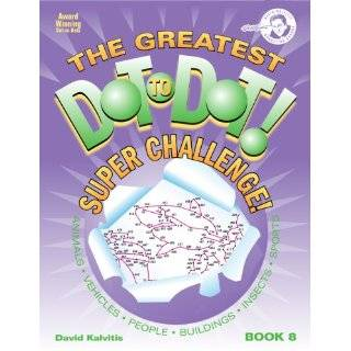 The Greatest Dot to Dot Super Challenge Book 5 (Greatest