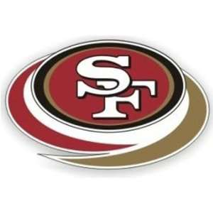 San Francisco 49ers Die Cut Window Film   Large