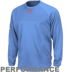 MLB Majestic Texas Rangers Therma Base Tech Performance Fleece