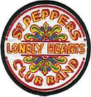 19424 The Beatles Sgt. Peppers Lonely Heart Club Band Drum Logo Patch