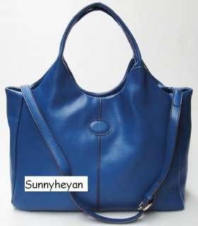 Laides 100% Real leather handbag satchel Bag shoulder messenger Tote