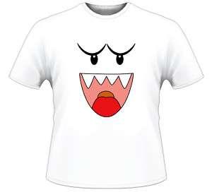 Super Mario Bros Boo Character T Shirt