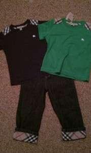 Toddler Boys Tee Shirt Top Size 4 Year 4t 3t 3 Nova Check Black