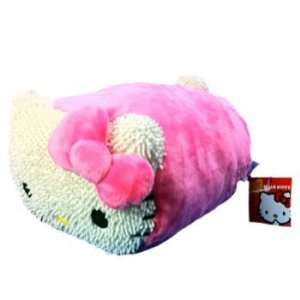 Sanrio Hello Kitty Mini Fiber Pillow (Pink) Toys & Games