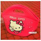 style cute lunch hand kitty purse shopping kid Girl Bag red Lady