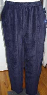 NEW Lands End Sport Knit Cords Pants M 1X 2X 3X Black Brown Camel